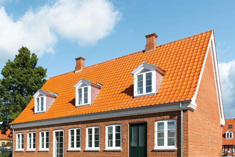Tagrenovering på Fyn i forbindelse med totalrenovering af hus i Middelfart