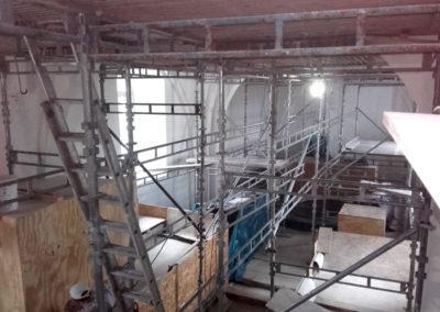 Renovering af kirke